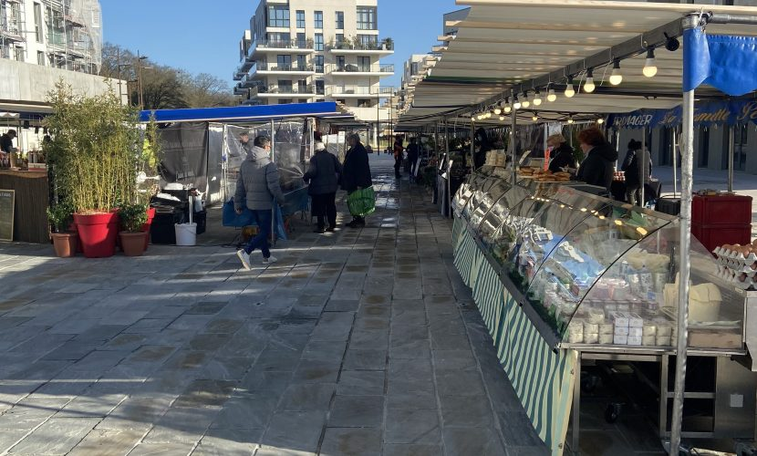 marché Pereire st germain en laye